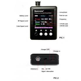 Surecom SF-401 Plus frekvenstæller
