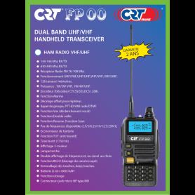 CRT FP 00 VHF/UHF